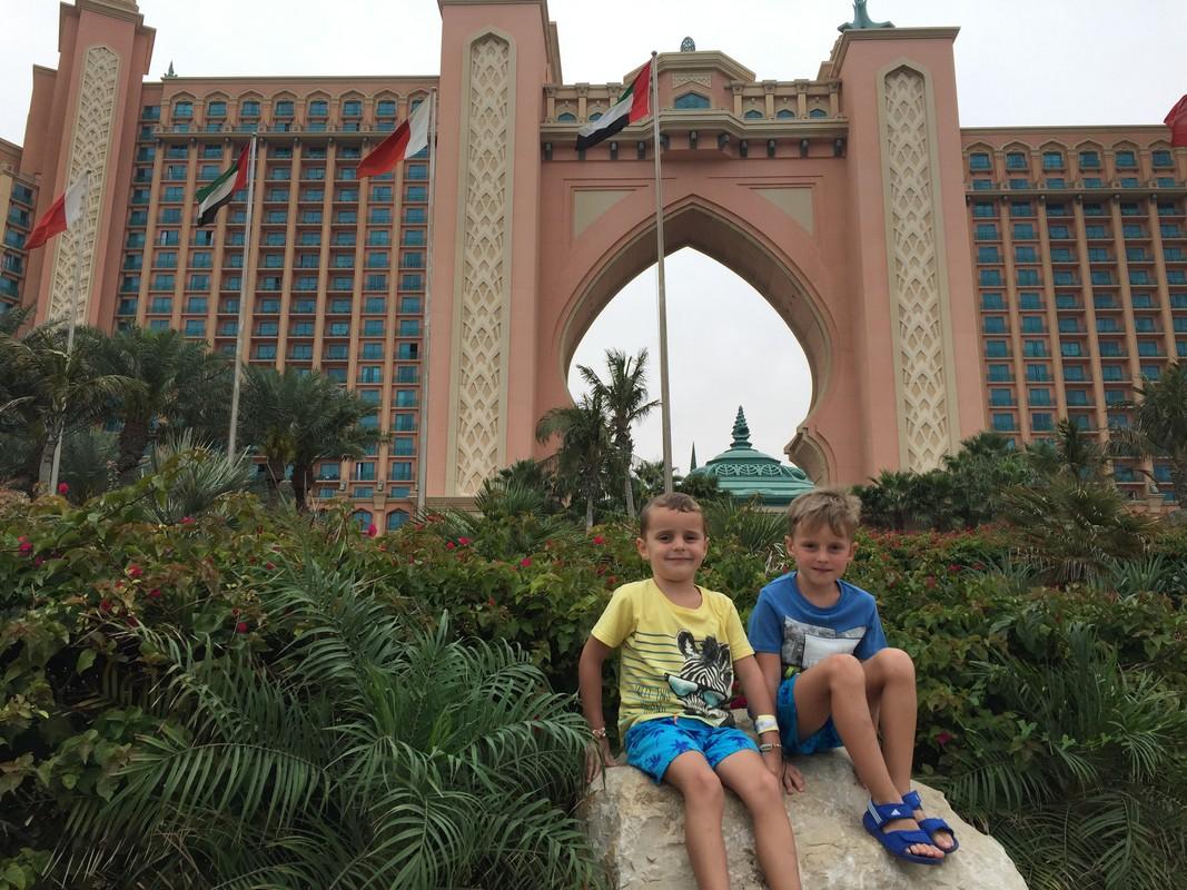 Dubaj s deťmi